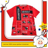 Kaos anak laki-laki motif Beco Red 1-10 thn anak super