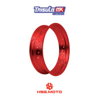 VELG SUPERMOTO TMX ALUM MT RIM 4.25x17 32H - RED