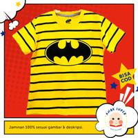 Baju/Kaos Anak Lengan Pendek Motif Batman Logo Strip 1 - 10 Tahun