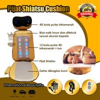 COTY Kursi Pijat CT38-PSY Shiatsu Cushion 4D Bola Putar Infrared+ion
