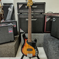 Elektrik Bass Squier Deluxe Dimension V RW, 3TS