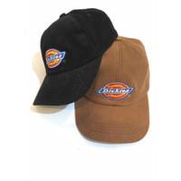 topi baseball caps corduroy dickies bordir coklat,topi dickiescorduroy
