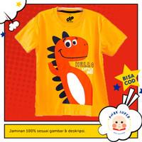 Baju Anak/Kaos Anak Laki-Laki Motif DINO HELLO BEE 1 - 10 Tahun