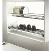 Rak piring gelas stainless 90cm vitco untuk kabinet dapur