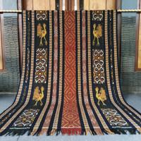 Kain Tenun Ikat Blanket Etnik Original Handmade Motif NTT
