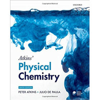 Physical chemistry 9th edition peter atkins
