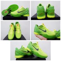 Sepatu Basket🔥Nike Kobe 6 Protro LOW Grinch