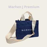 Tas Jinjing Slempang Kanvas Medium Klep Magnet Marhen Hand Bag Korea