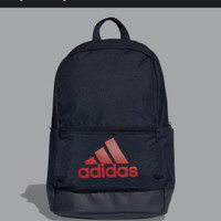Adidas classic badge of sport backpack Originals - Biru, polos