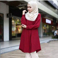 Baju atasan wanita muslim / Liya tunik Terbaru dan Terlaris