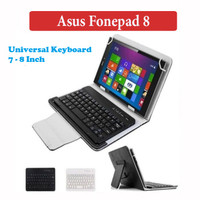 Asus Fonepad 8 Inch Leather Keyboard Bluetooth Case Flip Cover Casing