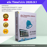 aSc Timetables 2020.9.1 Full Version - Software Schedule Maker