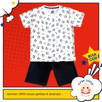 Baju anak / Setelan anak perempuan motif Panda fullprint 1-10 tahun
