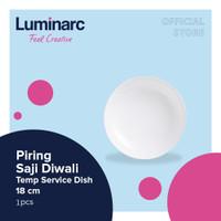 Luminarc Piring Saji Diwali - Temp Service Dish 18 cm - 2pcs