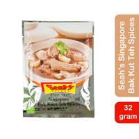 Seah's Bak Kut Teh Spices 32gr Bumbu Bakut Bakkut Tea Singapore Seah