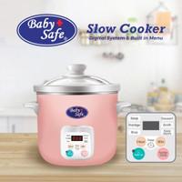 Baby safe Slow cooker LB06D pemasak makanan bayi dengan menu digital