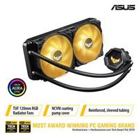 ASUS TUF GAMING LC 240 RGB - AIO LIQUID CPU COOLER WATER COOLING LC240