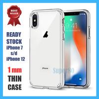 Case Auto Focus iPhone X XS Max XR 6 7 8 Plus Transparan Soft Slim