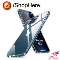 Transparan Bening Soft Case Perfect Fit Casing iPhone 12 Mini Pro Max