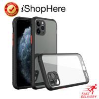 Anti Crack Clear Tread Hard Case Casing Bening iPhone 11 11 Pro Max