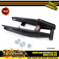 Swing Arm HUTECH KLX 150 Model KTM 250 Hitam