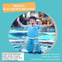 [Free Kacamata Renang] Baju Renang Anak Pelampung Floswim Standar