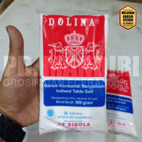 DOLINA 500 GR / GARAM KONSUMSI BERYODIUM