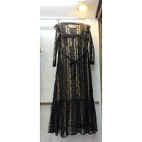 SHABBY DRESS BAJU GAMIS WANITA MUSLIMAH BAHAN BRUKAT