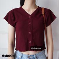 ELLIPSES.INC Monny Knit Crop Top / Baju Rajut Crop