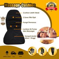 COTY Massage Cushion CT-588Y Kursi Rumah Mobil+Fungsi Pemanas & Getar