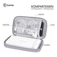 COPPER Tas Gadget Powerbank Waterproof / Travel Organizer Multifungsi