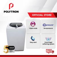 POLYTRON New Zeromatic Automatic Washing Machine 9Kg PAW 90517WB