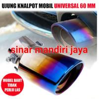 Muffler Pelangi Datsun Go/Go+