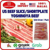 US Short plate Slice / Yoshinoya Beef