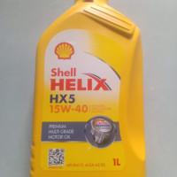 OIL OLI MOTOR SHELL HELIX HX5 15W-40 API SN/CF,ACEA A3/B3