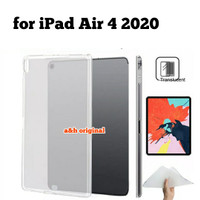 Apple iPad Air 4 10.9 inch 2020 - Silicone Soft Case Back Cover Glossy