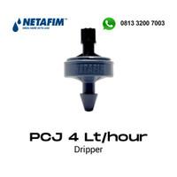 Netafim PCJ Dripper 4 liter/jam