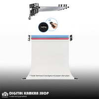 Expander Roll Background 4 bar Wireless Remote