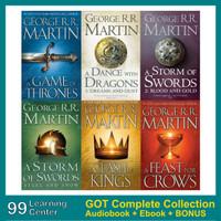 [Audiobook + Ebook] - Game of Thrones Complete Collection + Bonus!