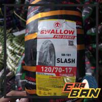 BAN SWALLOW SLASH SB151 - 120 70 RING 17 TUBELESS SOFTCOMPUND