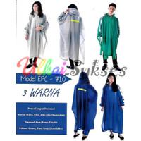 Elmondo Jas Hujan Ponco Lengan Personal 710 - Raincoat Dewasa Murah