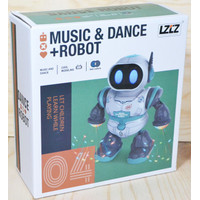 Robot Music Dance | Mainan Robot Joget Bisa Jalan Lampu dan Musik