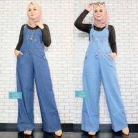 Jumpsuit Overall Wanita / Celana Kodok Kulot Jeans levis Remaja Dewasa