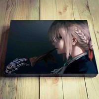 Hiasan Dinding Anime Violet Evergarden Poster Dinding Kayu Pictbox