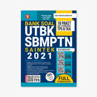Yrama Widya - Buku Bank Soal UTBK SBMPTN Saintek 2021 Edisi Lengkap