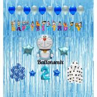 dekorasi set doraemon/dekorasi ulang tahun