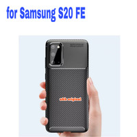 Case Samsung S20 FE / Lite - Rugged Armor Silicone Carbon Soft Casing