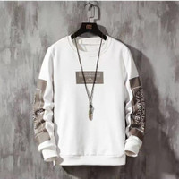Baju Kaos Pria Lengan Panjang Fashion Distro Cowok Camp Premium