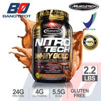 Muscletech Nitrotech Whey Gold ASLI ORI BPOM Nitro Tech Susu Fitness