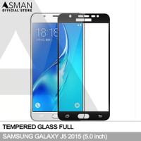 Tempered Glass Full Samsung Galaxy J5 (2015) | Anti Gores Kaca - Hitam